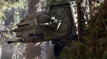 Battlefront AT-AT's on Rails