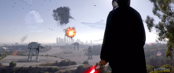 Sith Attacking Los Angeles