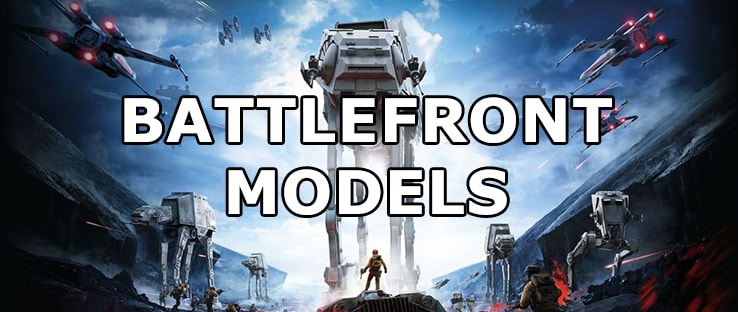 Player Models and Characters in Star Wars Battlefront