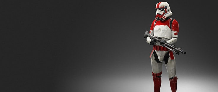 Shock Trooper Player Model