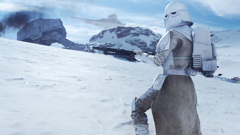 Snowtrooper Battlefront Model
