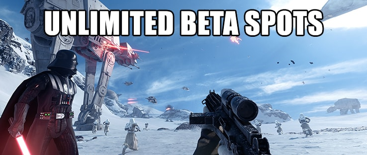 Star Wars Battlefront Beta Sign Ups Unlimited