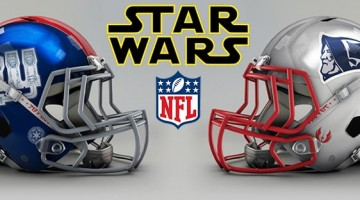 NFL Star Wars Football Helmets