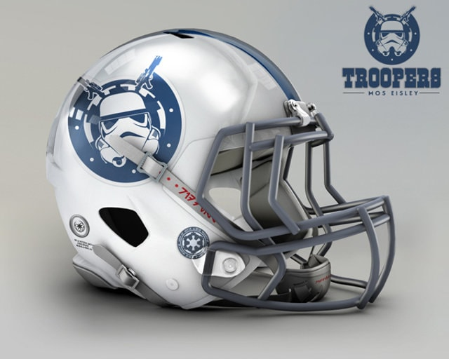 NFL Star Wars Football Helmet - Colts