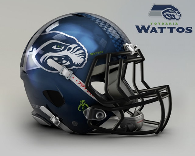 NFL Star Wars Football Helmet - Seahawks