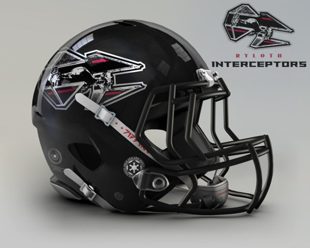 NFL Star Wars Football Helmet - Falcons