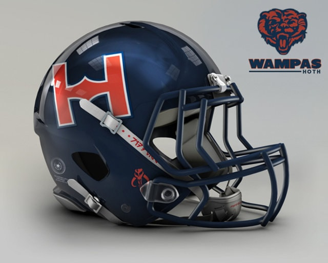 NFL Star Wars Football Helmet - Bears