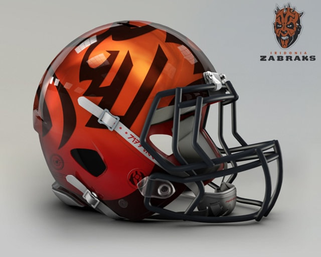 NFL Star Wars Football Helmet - Bengals