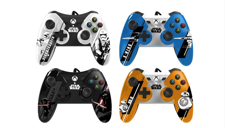 The Force Awakens Xbox One Controllers