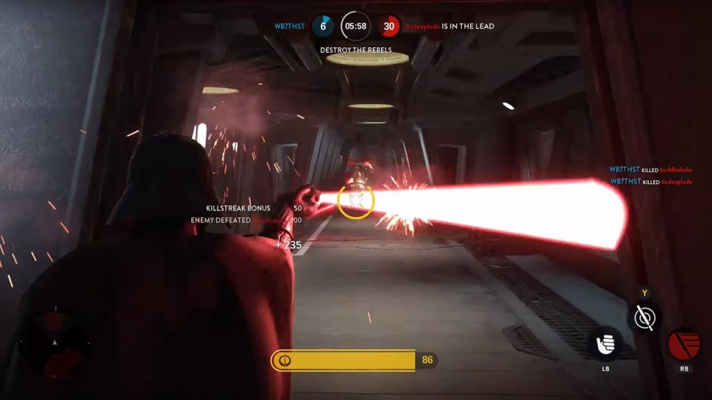 Darth Vader in Hero Hunt