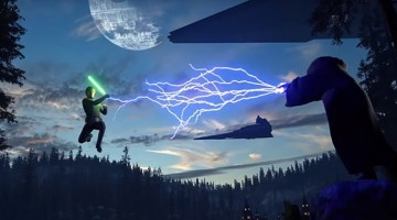 """<span class=""""entry-title-primary"""">New Battlefront Trailer Shows Off Heroes and Villains</span> <span class=""""entry-subtitle"""">Electronic Arts released a new trailer today showing off some of their newest heroes and villains that they recently announced</span>"""