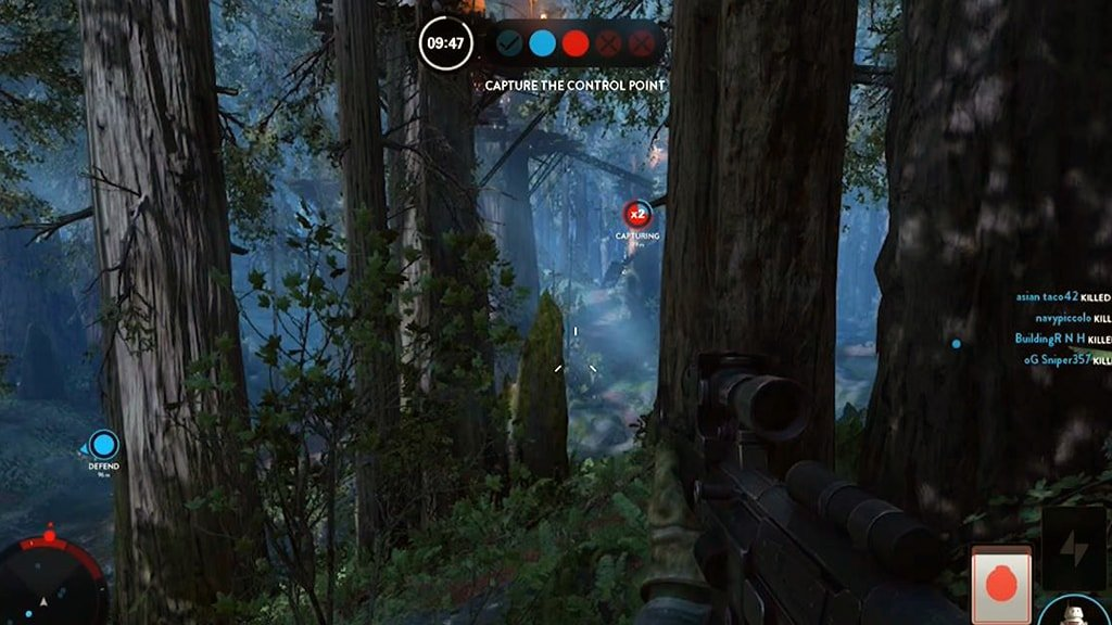 Supremacy on Endor Map