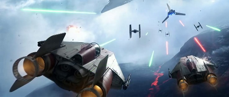Battlefront A-Wing