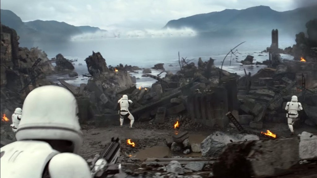 Stormtroopers Attacking Takodana