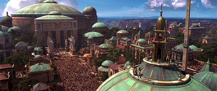 Battlefront Theed Location