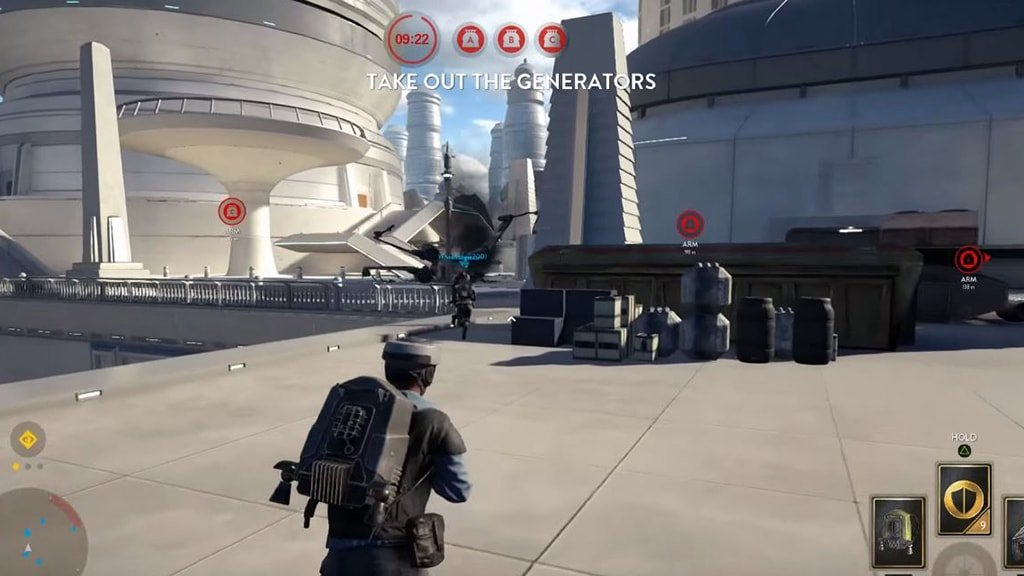 Sabotage Game on Star Wars Battlefront