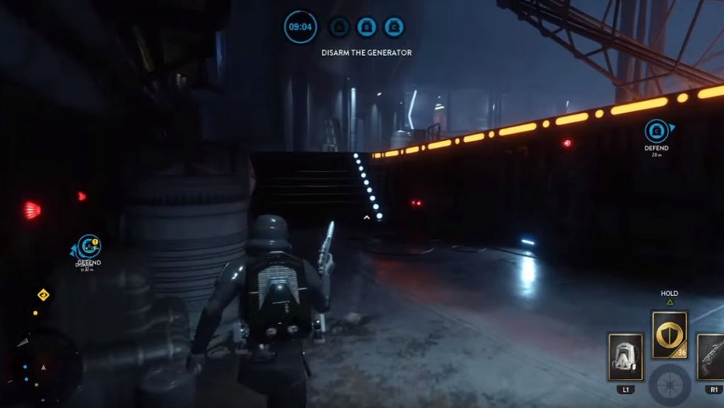 Stormtrooper Playing Sabotage on Battlefront