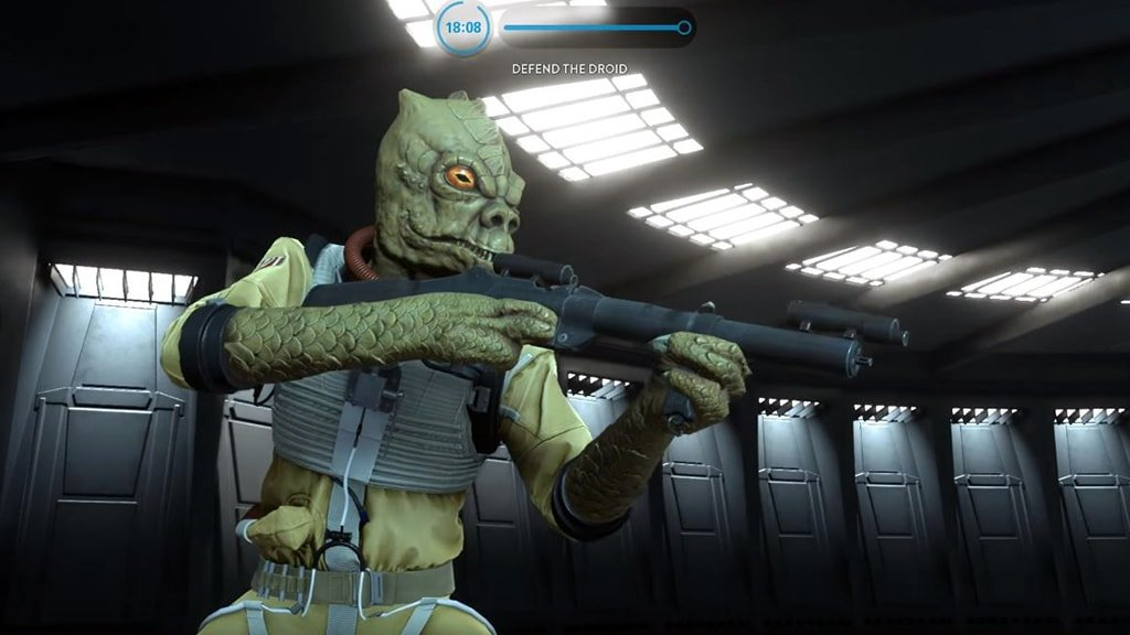 Bossk Hero Spawning Battlefront