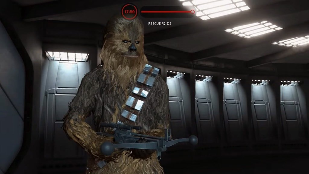Chewbacca Spawning on Death Star