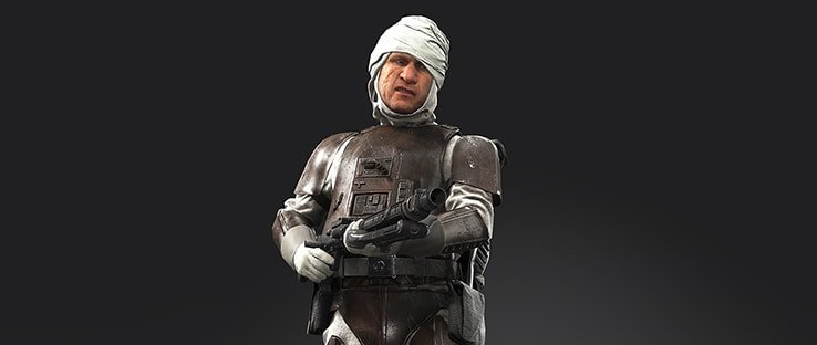Dengar Hero in Battlefront