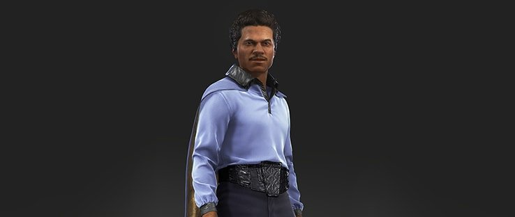 Lando Calrissian Hero in Battlefront