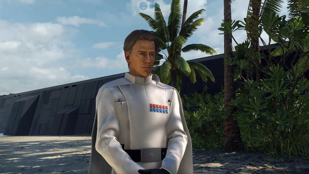 Orson Krennic Spawning on Scarif