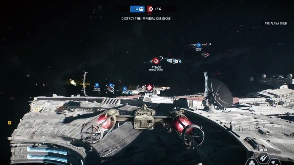 Y-Wing in Starfighter Assault